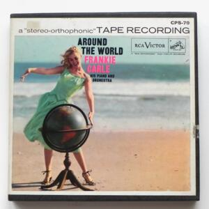 Around the World / Frankie Carle his piano and Orchestra/ RCA / CPS 70 - Nastro Magnetico Registrato su bobina da 18 cm - 2 tracce - Velocità 19 cm/sec - Originale
