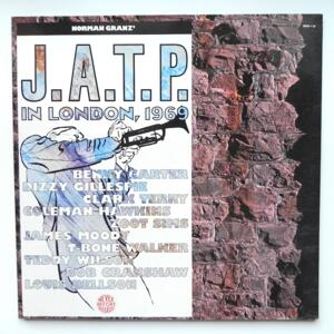 Jazz At The Philharmonic in London 1969 / AA.VV. - Double LP 33 rpm - Made in Germany - PABLO - 2620-119  - OPEN LP