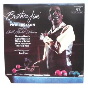 Brother Jim / Milt Jackson and his Gold Medal Winners  --  LP 33 rpm - Made in USA - PABLO - 2310-916 - OPEN LP