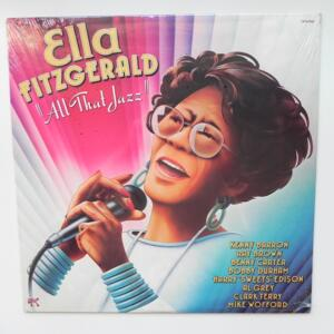 All That Jazz / Ella Fitzgerald  --  LP 33 rpm - Made in USA - PABLO - 2310-938 - SEALED