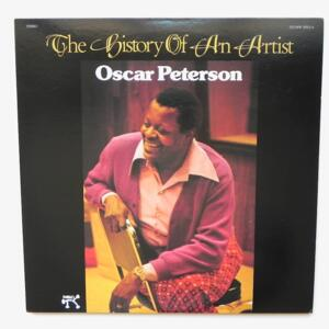 THE HISTORY OF AN ARTIST / Oscar Peterson  --  Double LP 33 rpm - Made in Japan - PABLO - MW 9053/4 - OPEN LP