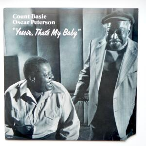 Yessir, That's My Baby / Count Basie - Oscar Peterson  --  LP 33 rpm - Made in USA - PABLO - 2310-923 - OPEN LP