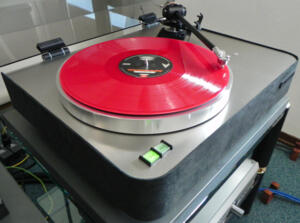 "Turntable SEMPERSONUS TE2 - Complete with Origin Live ENCOUNTER 12"" tonearm and Dust Cover - PROMO PRICE"