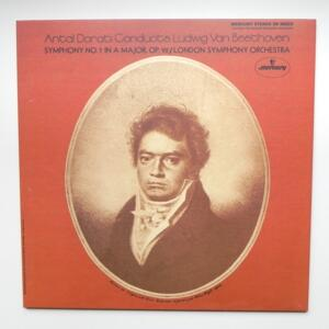 Beethoven SYMPHONY NO. 7 IN A MAJOR, OP. 92 / London Symphony Orchestra Conductor Antal Dorati   --   LP 33 rpm 180 gr. -  Made in Europe - MERCURY - SR 90523 - OPEN LP
