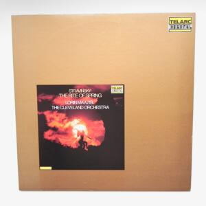 Stravinsky THE RITE OF SPRING / The Cleveland Orchestra  Conductor Lorin Maazel  --  LP 33 giri - Made in Japan  - TELARC - 20PC-2012 - LP APERTO