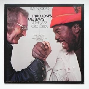 Live in Tokyo / Thad Jones - Mel Lewis & The Jazz Orchestra --  LP 33 rpm - Made in Japan - DENON - YX-7557-ND - OPEN LP