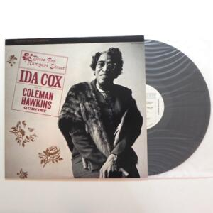 Blues For Rampart Street  /  Ida Cox with the Coleman Hawkins  Quintet  -- LP 33 giri - Made in USA - FANTASY - LP APERTO