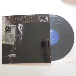 Duke Ellington and his Orchestra featuring Paul Gonsalves / Duke Ellington and his Orchestra  -- LP 33 giri - Made in USA  - FANTASY - LP APERTO