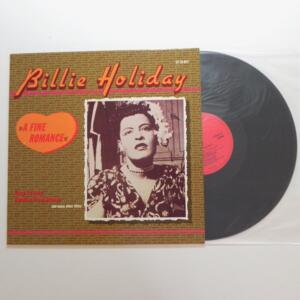 A Fine Romance / Billie Holiday    -- LP 33 giri - Made in EEC  - WORLD MUSIC - LP APERTO