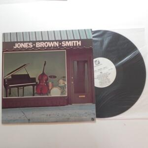 Jones - Brown - Smith / Jones - Brown - Smith  --  LP 33 giri - Made in USA  - CONCORD - LP APERTO