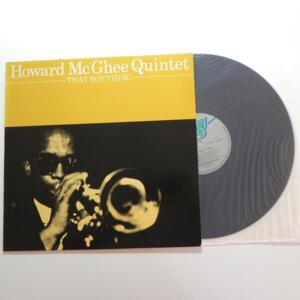 That Bop Thing / Howard McGhee Quintet  --  LP 33 giri - AFFINITY  - LP APERTO