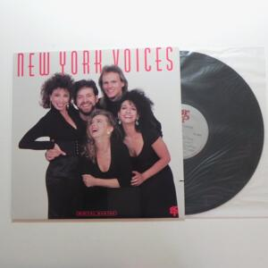 New York Voices / Eldridge - Nazarian - Krieger - Meader - Fox  --  LP 33 giri - Made in USA - GRP RECORDS  - LP APERTO