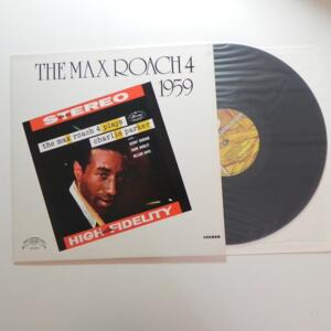 The Max Roach 4 plays Charlie Parker / The Max Roach 4   --  LP 33 giri - TRIP JAZZ - LP APERTO