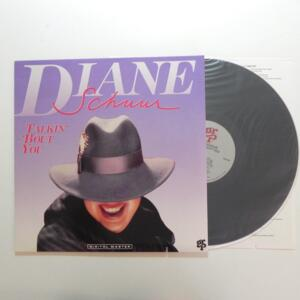 Talkin Bout You  / Diane Schuur  --  LP 33 giri  - Made in USA - GRP RECORDS - LP APERTO
