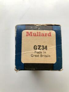 GZ34 Blackburn by Mullard - Made in Great Britain - Valvola singola - Usato testato e garantito (copia)
