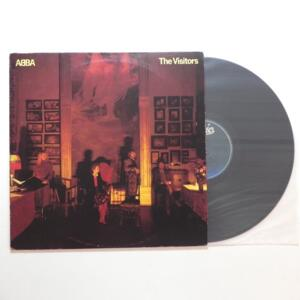 The Visitors / Abba  --  LP 33 giri  - Made in Italy - EPIC - LP APERTO
