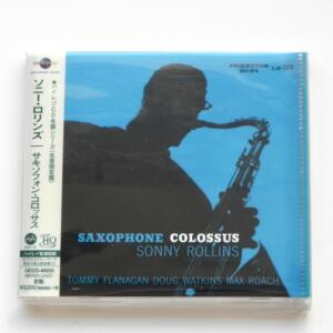 Sonny Rollins - Saxophone Colossus   --   UHQCD  MQA-CD  -  Made in Japan - Universal Japan - SEALED