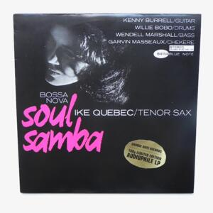 Bossa Nova - Soul Samba / Ike Quebec tenor Sax  --  LP 33 rpm 180 gr. - Made in USA - GROOVE NOTE - 1038-1 - OPEN LP - RARE AND OUT OF PRINT