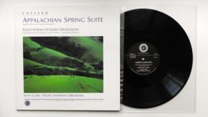 Appalachian Spring Suite - Copland / Keith Clark & The Pacific Symphony Orchestra   -- LP 33 giri - Made in USA