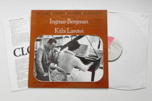 Mozart, Chopin, Handel, Scarlatti  The film music of Ingmar Bergman   / Kabi Laretei  -- LP 33 giri - Made in Sweden