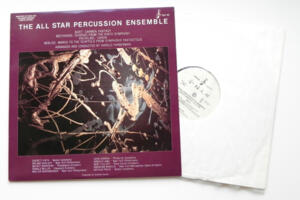 The All Star Percussion Ensemble plays Bizet, Beethoven, Pachelbel and Berlioz / conducted by H. Faberman  --  LP 33 giri 180 gr. Made in USA  - Edizione Limitata Numerata