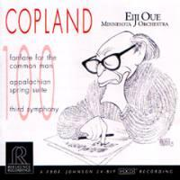 COPLAND - Fanfare for the Common Man - Appalachian Spring Suite - Third Symphony - Eiji Oue & Minnesota Orch.  -  CD Made in USA - SEALED