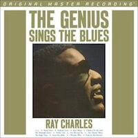 The Genius Sings The Blues / Ray Charles  --  LP 33 giri su vinile 180 grammi Made in USA