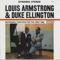 Together for the first Time / Armstrong, Ellington  --  LP 33 giri su vinile 200 grammi Made in USA