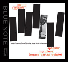 Speakin' My Piece - Horace Parlan Quintet  --  XRCD Made in USA
