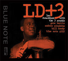 LD+3 - Lou Donaldson with the 3 sounds  --  XRCD24