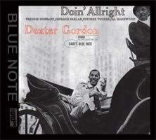 Doin'Allright - Dexter Gordon  --  XRCD24 Made in USA