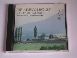Sir Adrian Boult - Concert Favorites / New Symphony Orchestra of London