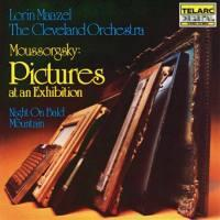 Pictures at an Exhibition, Night on Bald Mountain - Moussorgsky  /  Lorin Maazel & The Cleveland Orchestra  -- CD