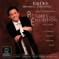 Pictures At An Exibition + Various selections - Mussorgsky / Eiji Oue & Minnesota Orchestra  --  CD Made in USA