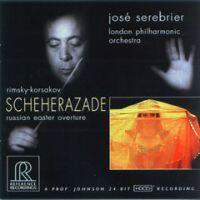 Scheherazade - Rimsky-Korsakov / Josè Serebrier & London Philharmonic Orchestra  --  CD Made in USA
