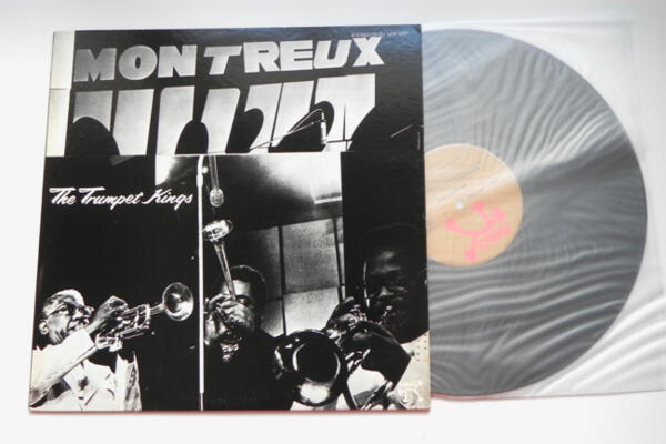 The Trumpet Kings at the Montreux Jazz Festival 1975 - The Trumpet Kings  --  LP 33 giri -  Made in Japan